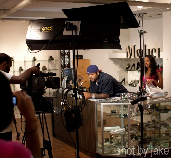 Jim Jones and Webstar Video Shoot